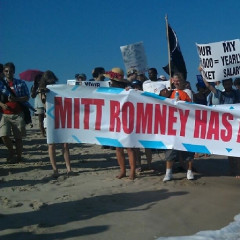 Hamptons Protesters Didn't Want Mitt Romney Having All The Fun This Weekend