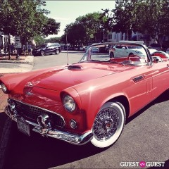 Hamptons Car Of The Day: A Breathtaking Salmon Convertible