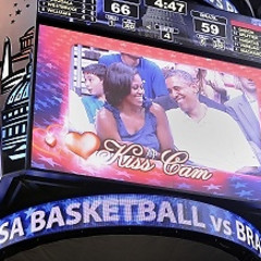 The President And First Lady Caught On The