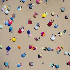 Hamptons Beaches From Above