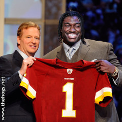 RGIII Signs Rookie Contract, Adidas Commercial Out