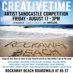 A Hipster Event In Rockaway Beach: CreativeTime Artist Sandcastle Competition