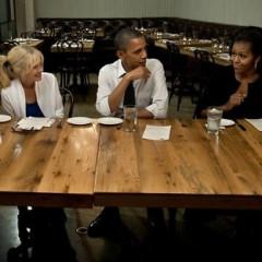 Barack And Michelle Dine In Adams Morgan
