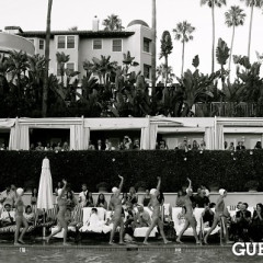 An Elegantly Timeless Pool Party At The Beverly Hills Hotel's Summer Poolside Soiree