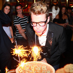 Last Night's Parties: Brad Goreski's Birthday Bash At No. 8, And M83 Hits Up SummerStage