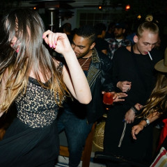 The Faces Of Delight At Nightlife's Arrival On The Westside With Brent Bolthouse's The Bungalow