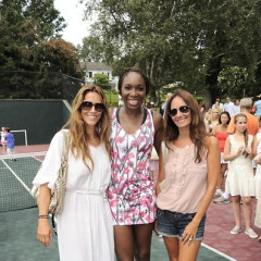With A Garden Party And A Tennis Match, Venus Williams Introduces The Hamptons To Her Latest Clothing Line