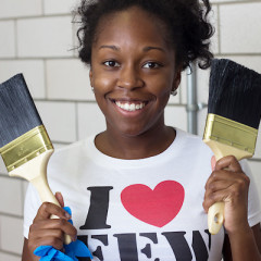 Fashion Empowering Women Lends Hands For DCPS Beautification Day