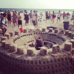 The Coolest Castles Of Rockaway Beach's Sandcastle Competition
