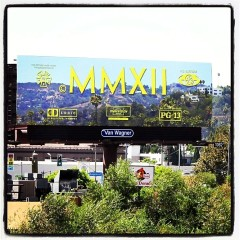 Summer Photo Of The Day: Cayetano Ferrer's New Optical Illusion Billboard On Hollywood Blvd