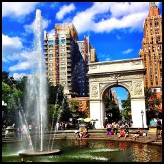 Photo Of The Day: Late Morning In Washington Square Park