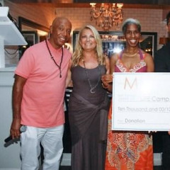 Russell Simmons And Deepak Chopra Host Hamptons Magazine Event At Beaumarchais A La Plage