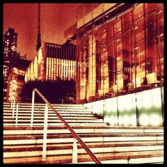 Photo Of The Day: Lincoln Center Lights Up For Valentino