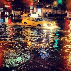 Photo Of The Day: NYC Storm Floods Instagram