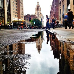 Photo Of The Day: NYC Street Reflection