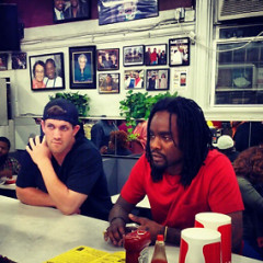 Bryce Harper And Wale Visit Ben's Chili Bowl