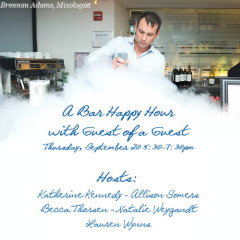 A Bar Happy Hour With Guest Of A Guest This Thursday!