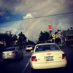 Photo Of The Day: A Legit WeHo Rainbow