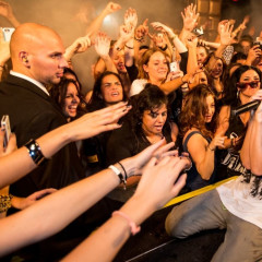 Check Out Insane Shots From Steve Aoki's Blow Out Performance At Lavo
