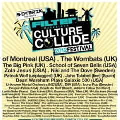Today's Giveaway: A Pair of FILTER Culture Collide Festival Tickets!