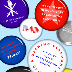 Register To Vote With D4D + Opening Ceremony Today!