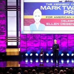 Ellen DeGeneres In DC, Receives Mark Twain Prize For American Humor
