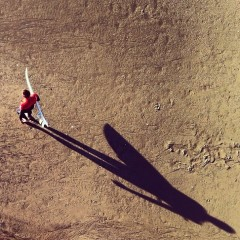 Photo Of The Day: Lone Surfer's Killer Shadow Shot By Ed Templeton