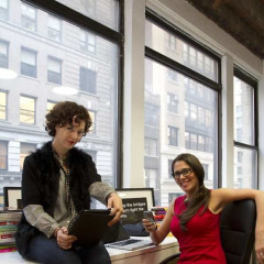 NYC Tech Innovators Sponsored By Heineken: Rachel Sklar And Glynnis MacNicol Of