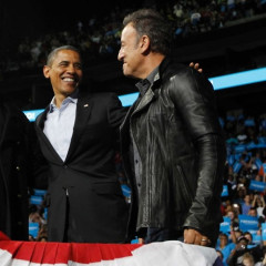 Eavesdropping In: Bruce Springsteen, Jay-Z Join Obama's Final Campaign Push; Channing Tatum People's Sexiest Man Alive; Lindsay Lohan Faces Jail Again; Record 18Mil Registered To Vote In CA; Latest Poll & Voting Updates