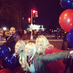 Instagram Round Up: Thousands Party Outside The White House To Celebrate President Obama Victory