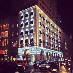 Photo Of The Day: Happy Holidays From Harry Winston