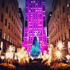 Photo Of The Day: Get Ready For Rockefeller Center's Christmas Tree Lighting Tonight