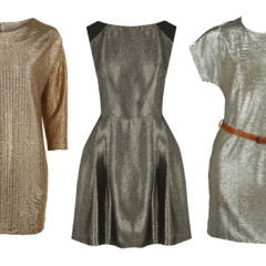 Our Favorite Metallic Frocks To Stand Out On Any Occasion