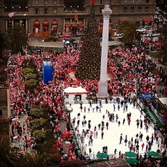 Photo Of The Day: Santacon Comes To Towns Around The World
