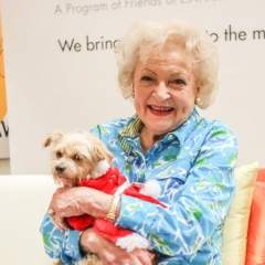 L.A. Love & Leashes Celebrates One-Year With Betty White