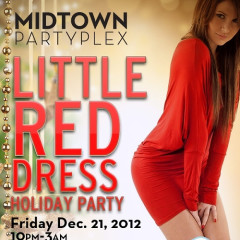 Do Not Miss: Little Red Dress Party This Friday At Midtown Partyplex!