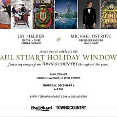 You're Invited: Celebrate The Holidays With Town & Country And Paul Stuart!
