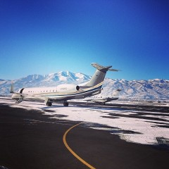Photo Of The Day: Touching Down In Park City