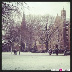 Photo Of The Day: Georgetown In The Snow