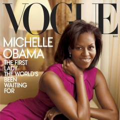 Michelle Obama And Her Bangs To Grace The Cover Of Vogue