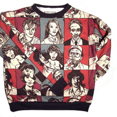 Today's Giveaway: Unruly Heir's Sidewalk Socialite Sweater!