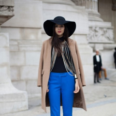 Street Style Trend: How To Add A Pop Of Color To Your Winter Wear