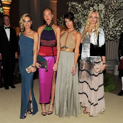 Spotlight On The Courtin-Clarins Girls: The Family In The Front Row