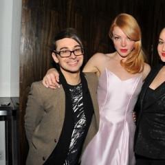 Backstage With Fern Mallis, Christian Siriano, And Kimberly Ovitz