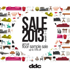 Attention Shoppers: Score Home Furnishings At The ddc Annual Floor Sample Sale!