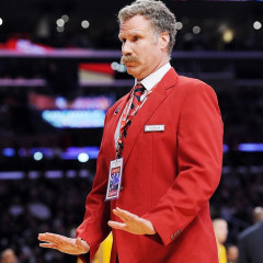 VIDEO: Will Ferrell Ejects Shaq From Lakers Game As STAPLES Security Guard
