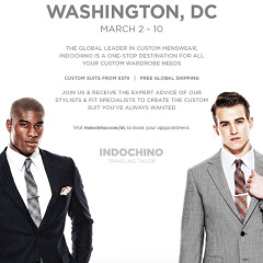 Do Not Miss: Indochino DC Pop-Up March 2-10