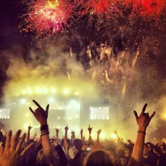 Instagram Roundup: Fireworks & Other Madness From Swedish House Mafia's Masquerade Motel