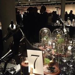 Luc Perramond & Robert B. Chavez Host La Montre Hermes Dinner At Skylight West