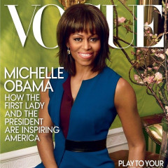 First Lady Michelle Obama's April Vogue Cover Revealed